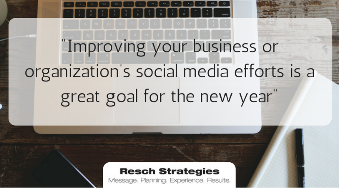 New Year\'s Resolutions: Improving Your Social Media in 2017 — Resch ...