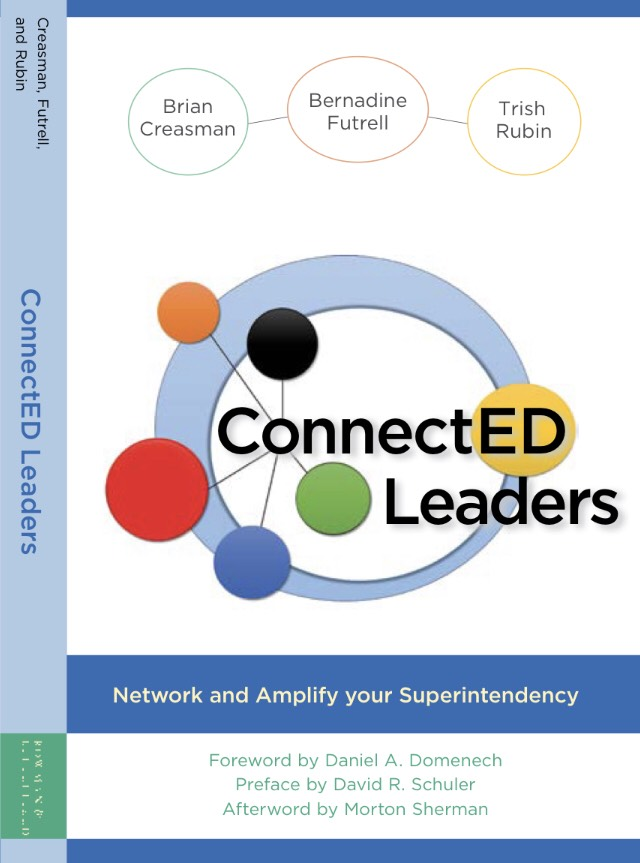 ConnectED Leaders - ConnectED Leaders is a call to action for superintendents and school system leaders to grow lead and engage in professional leadership networks. The book is based on principles developed in our professional roles as authors, a district superintendent, educational researcher, non-profit leader, leadership development expert, and a K-16 branding consultant for education and business and our personal roles and as friends, siblings, co-workers and parents. The position we claim in highlighting professional leadership networks is grounded in our work and experience. Our belief in professional leadership networks leads us to collaborate upon the superintendency's need to employ a strategy of growing professional networks, a first book in today's literature. We intend to help superintendents, novice or veteran, and other school system leaders recognize the importance of collaboration through professional leadership networks at a critical point in public education. With the call for more leadership collaboration and less isolation in today's schools, we offer school system leaders essential principles of networking, that will help them develop and engage in strategic opportunities of collaboration as a means to strengthen and improve the superintendency, their school district organization, and their students' success.
