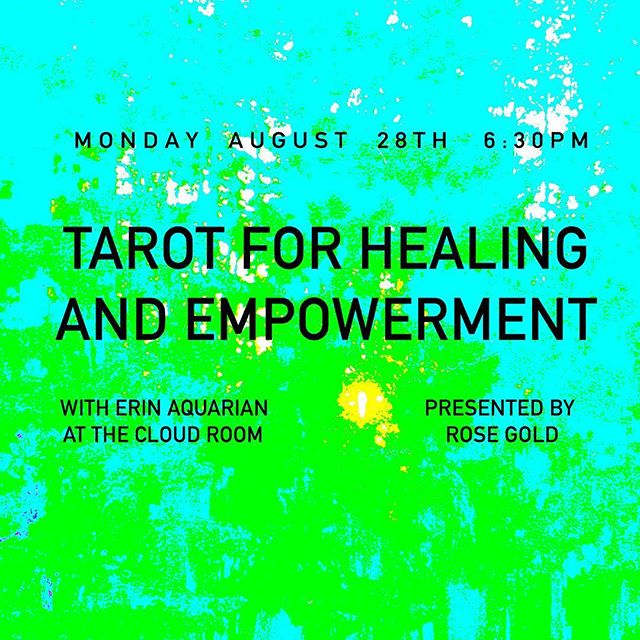 As we wrap up an intense Eclipse season, we are so excited to announce a workshop on Tarot for Healing and Empowerment, taught by @fulltimewitch ✨🌞✨ this three-hour class explores and suits, Major Arcana, and ways to explore your purpose and potential within the Tarot. Open to all levels, each attendee will leave with a handout to aid in at-home practice. Space is limited, so sign up via our site to secure a spot 🌹Please note that this is being held at @cloudroomseattle, and admission into the workshop includes one drink at the bar. We'll have a select amount of items for sale, so come early to enjoy a bev and shop 🌕