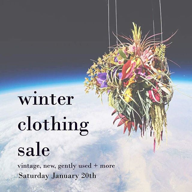 We are hosting a little clothing sale with a few friends! DM for address ~~ this is a pretty small event with lots of low price clothing so we hope you can swing by. There will be champagne + flowers!