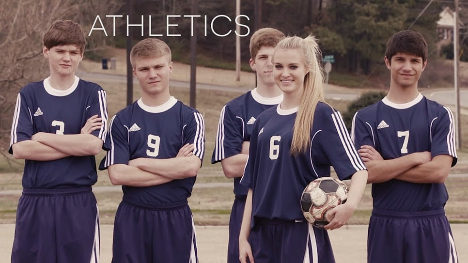 Screenshot of the ECA soccer team from the Excel video.