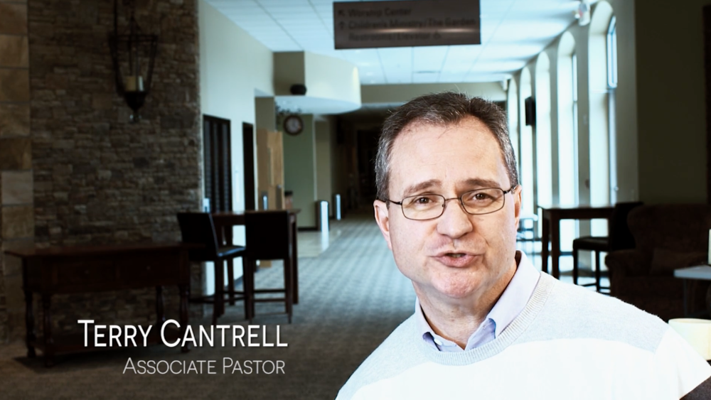 Screenshot of Terry Cantrell during the  Healing  video