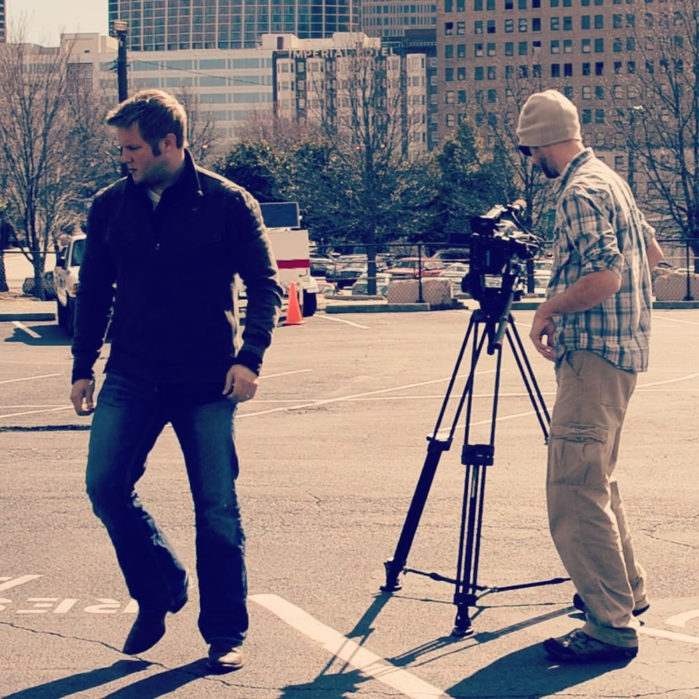 Setting up for another time lapse