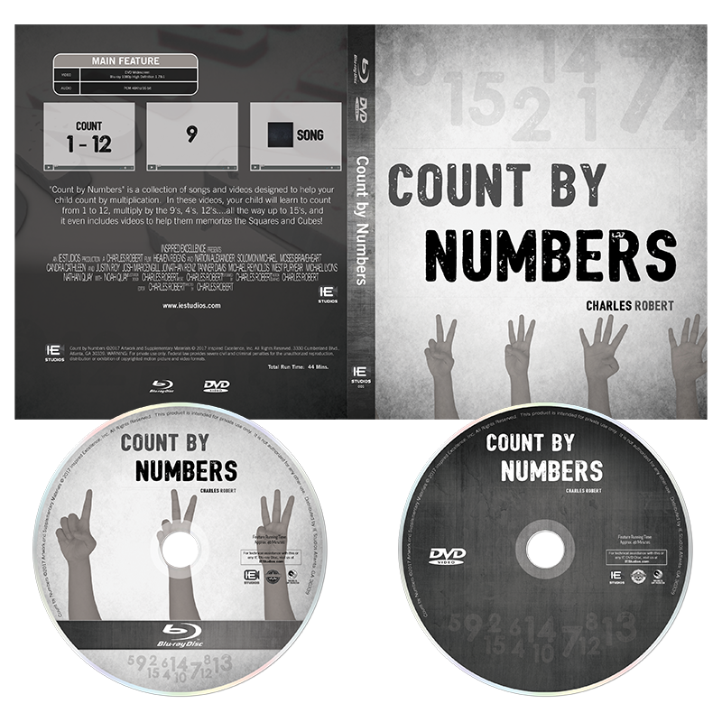 Count by Numbers (Blu-ray + DVD + Digital) 2 Disc — IE Studios Live