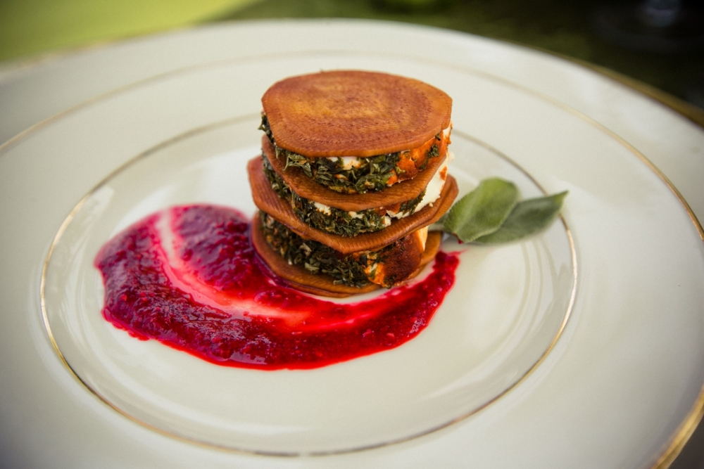 Herbed Goat Cheese and Beet tower.jpg