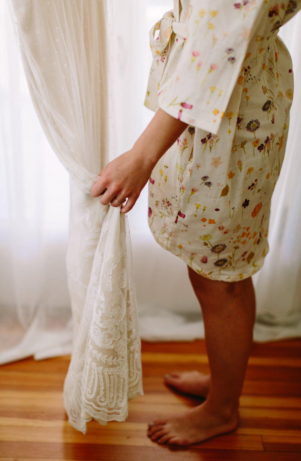 kimono wedding robe