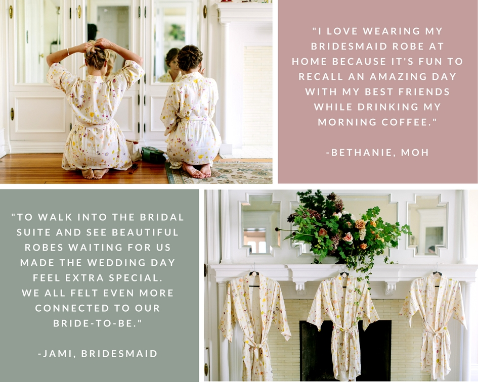 Bridesmaid Robe | Karen Obrist Photography