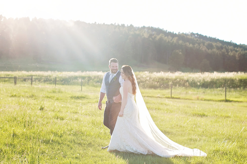 Black Hills Outdoor Wedding - Cadey Reisner Weddings