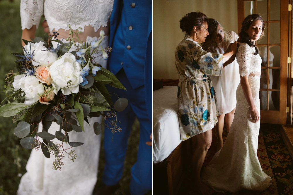 Hygge Wedding Custom Bridal Robe