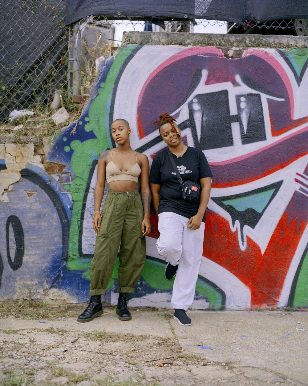 Egypt Robertson & Talecia Tucker