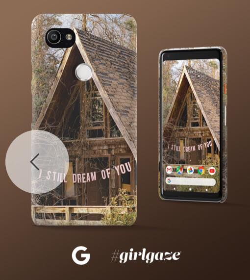 Collaboration with Google x Girlgaze for their Pixel 2 Phone Cases and Wallpapers  Find out more on the  Google Blog   Purchase my live case  here