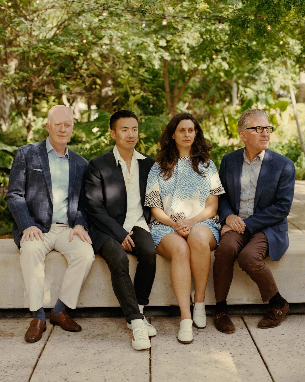 Ed Winkleman, Kibum Kim, Irene Kopelman, Howard Read