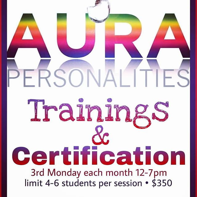💚💚💚💚💚💚💚 AURA PERSONALITIES TRAININGS • Next training is July 16th • every 3rd Monday of month • 12-7pm MST • In-person only for now • $350/training • Limit 4-6 people per training • Break for food around 3pm • Trainings in my home adjacent to Hyrum State Park • www.AuraPersonalities.com/events 💚💚💚💚💚💚💚 💚I plan to move away completely from AURA PERSONALITIES consulting via empathing and muscle test-checking. Instead, I want to spend my time helping you discover layers for yourselves, and teach you how to develop your gifts and help others discover their AURA PERSONALITIES. 💚I have created a 7-hour training, as well as a comprehensive written test/workbook so that, with patience, anyone can learn to discover AURA PERSONALITIES for themselves and for others. 💚Those who wish to be certified AURA PERSONALITIES CONSULTANTS and/or wish to utilize the site as consultants and have ongoing training with me will need to complete certification requirements. You do not have to certify if you just want to learn the process and use it in your personal life or your business. 💚Those who have previously certified will need to attend at least 1-2 sessions in order to be able to pass the consultation exam as well because of all the new material and new approach. Those who have previously certified and those who certify in the future will need to recertify each year (simply attend one class online). 💚 www.AuraPersonalities.com/events 💚 #aurapersonalitiespodcast