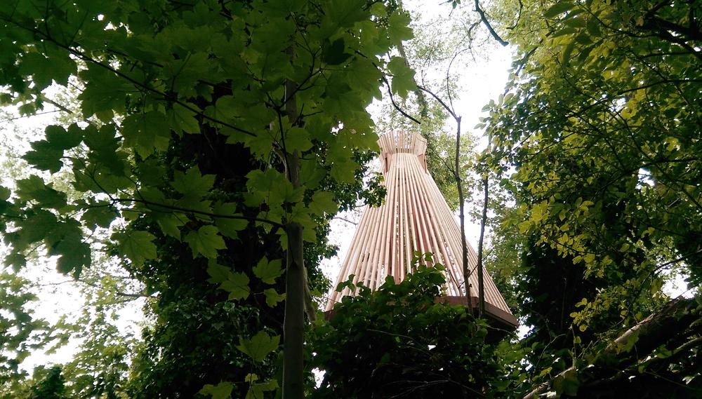 boomhut in Kortrijk voor Lieve Zusjes - Stoere Broers