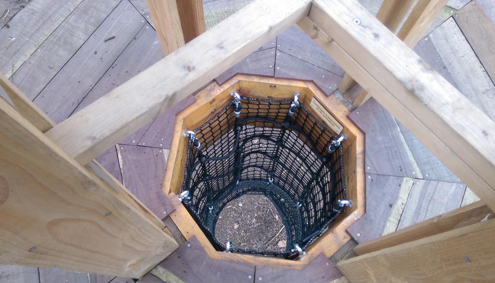 klimconstructie voor Stad Kortrijk in De Warande