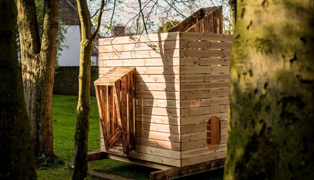 Een clubhuis experiment met Wildebras in het hartje van Kortrijk.