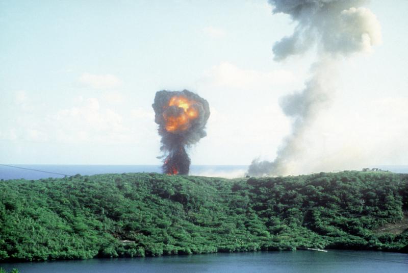 Explosion2_during_Grenada_invasion_1983.JPEG