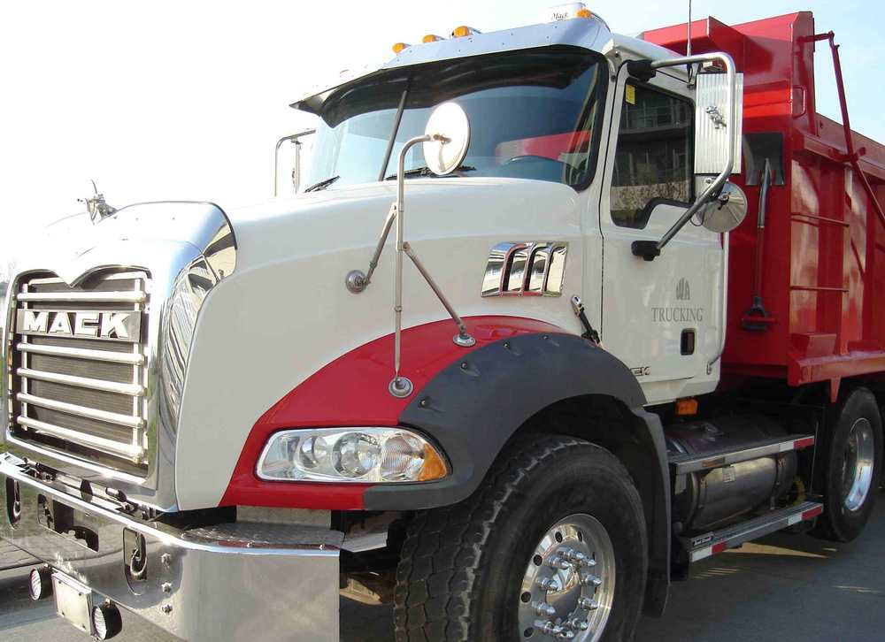 Lease a Heavy Spec Mack Dump Truck