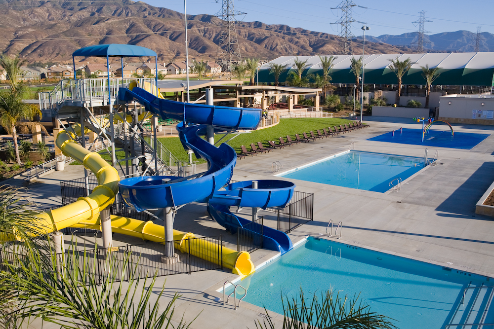 Jessie Turner Health and Fitness Center at Fontana Park, Fontana, California