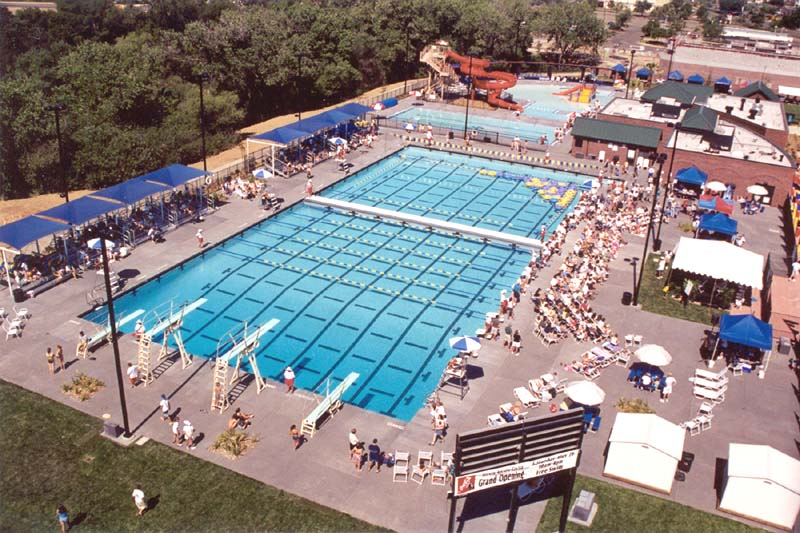 Folsom Aquatic Center at Lembi Community Park, Folsom, California