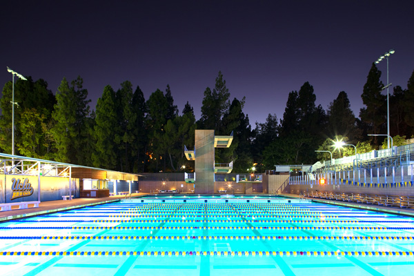 UCLA Spieker Aquatics Center, Los Angeles, California