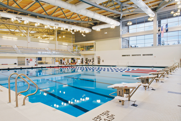York College of Pennsylvania Grumbacher Sports and Fitness Center, York, Pennsylvania
