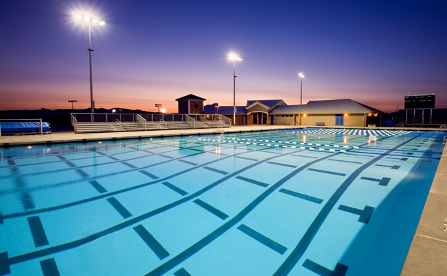 Dougherty Valley High School Aquatic Center, San Ramon, California