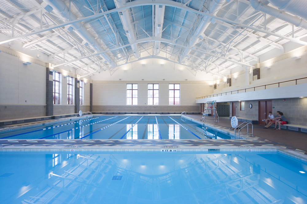 University of Texas Gregory Gymnasium Aquatics Complex, Austin, Texas