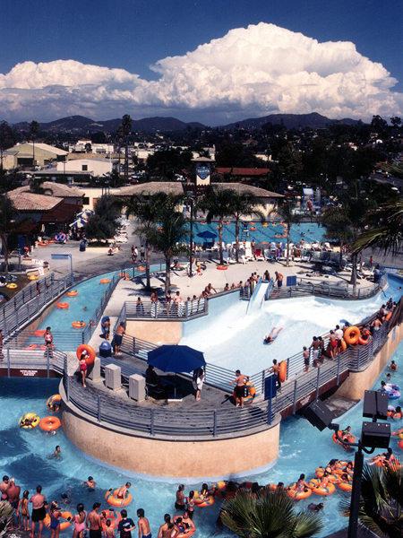 The Wave Family Aquatic Center, Vista, California