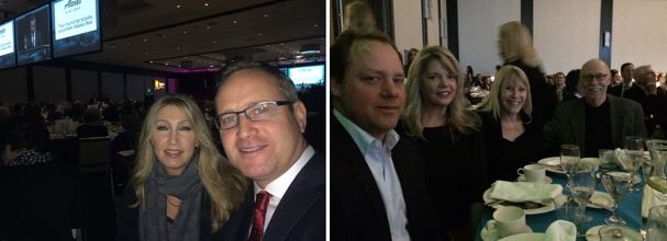 (From Left): Stacy and Dean Jones, Owners of RSIR along with Sam Cunningham, Julie Biniasz and Sandy Justen (with husband William) of RSIR's Citrone Partners