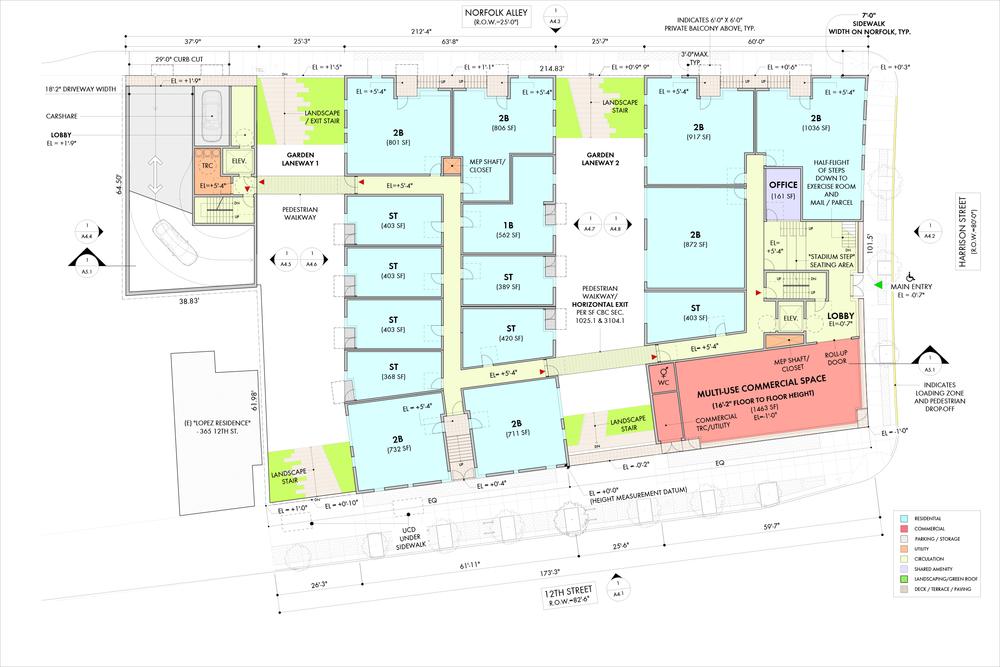 Street Level Floor Plan