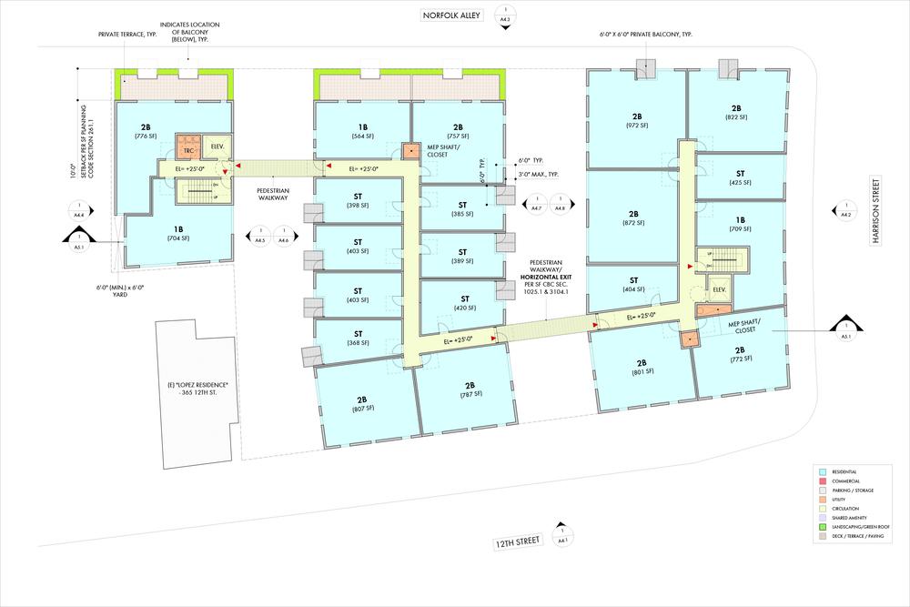 3rd Level Floor Plan