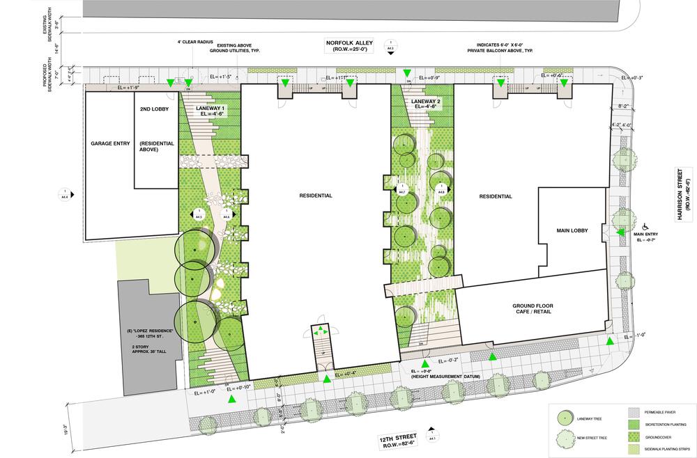 Garden Laneways Plan