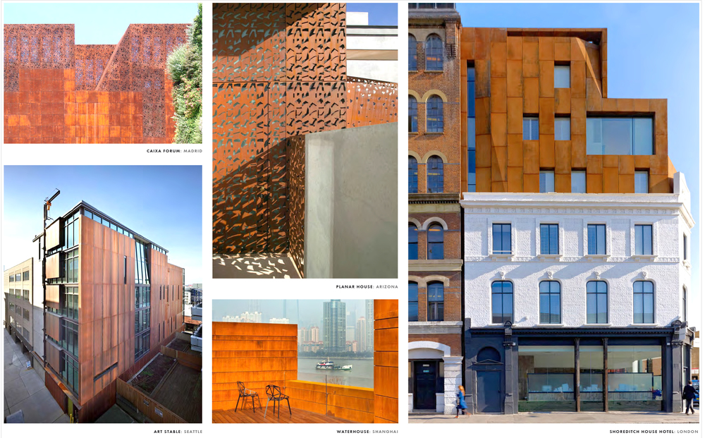 Precedents in Weathering Steel