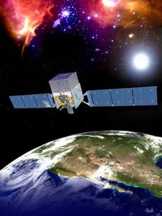 Artists Rendition of Fermi-LAT (NASA)