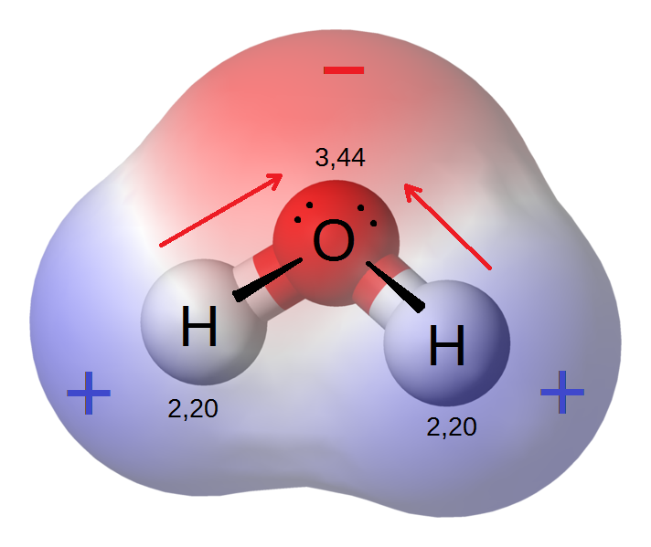 water molecule electron wavefunctions (from wikipedia)