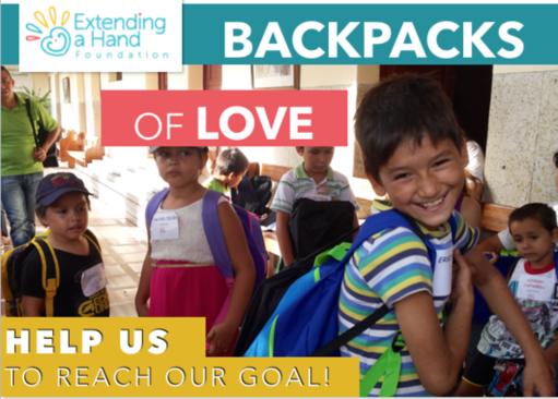 Backpacks of Love 2017 - Help us meet our goal and provide basic needs to the children and elderly of Agua de Dios.Learn More