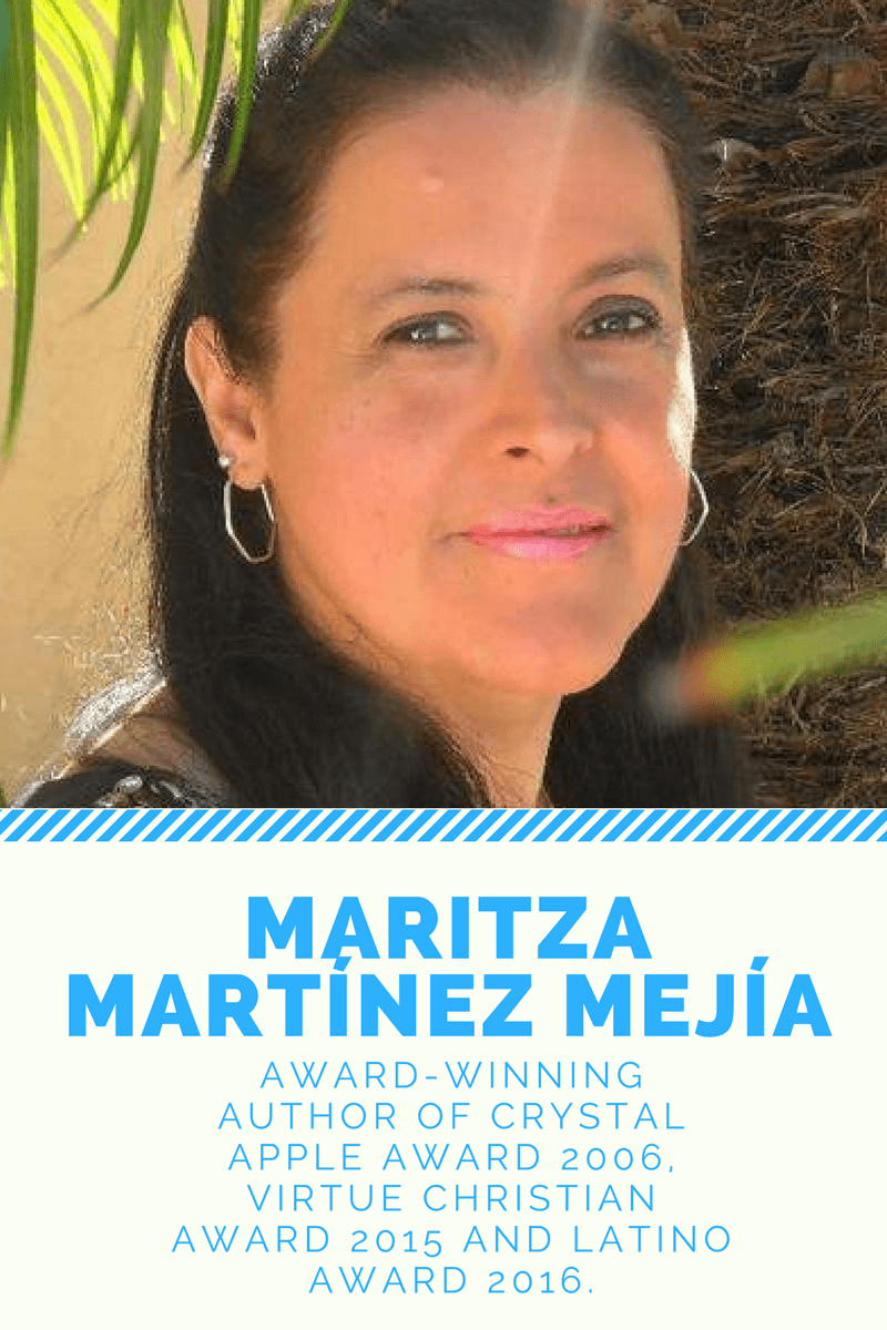 Meet Colombian Author Maritza M. Mejia -  An extraordinary Colombian writer, Maritza M. Mejia, is supporting