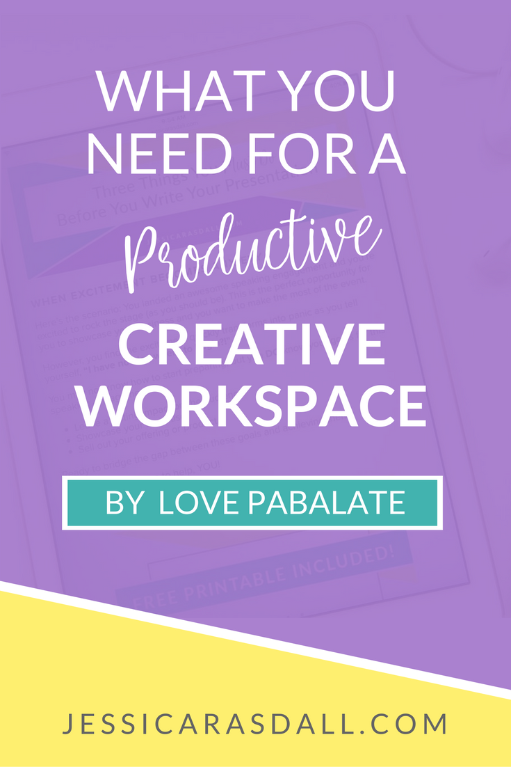 How to creative a productive, creative workspace
