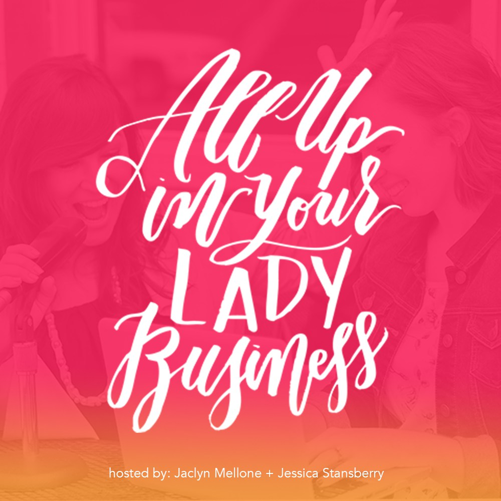 Jessica Rasdall on all up in your lady business podcast
