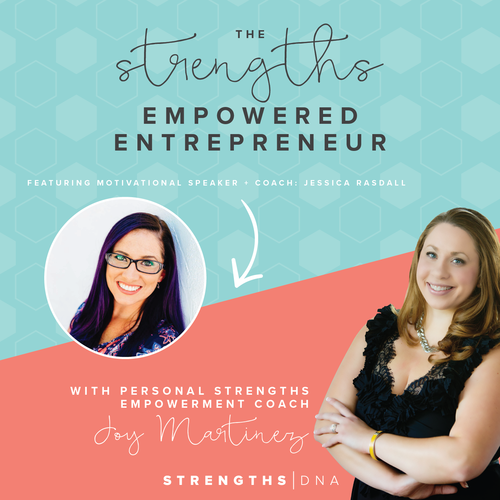 Jessica Rasdall featured on the Strengths Empowered Entrepreneur