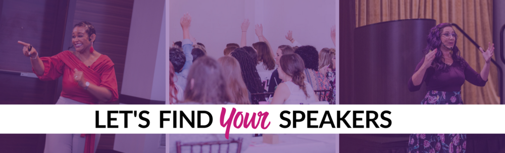 Find Speakers for Your Next Event