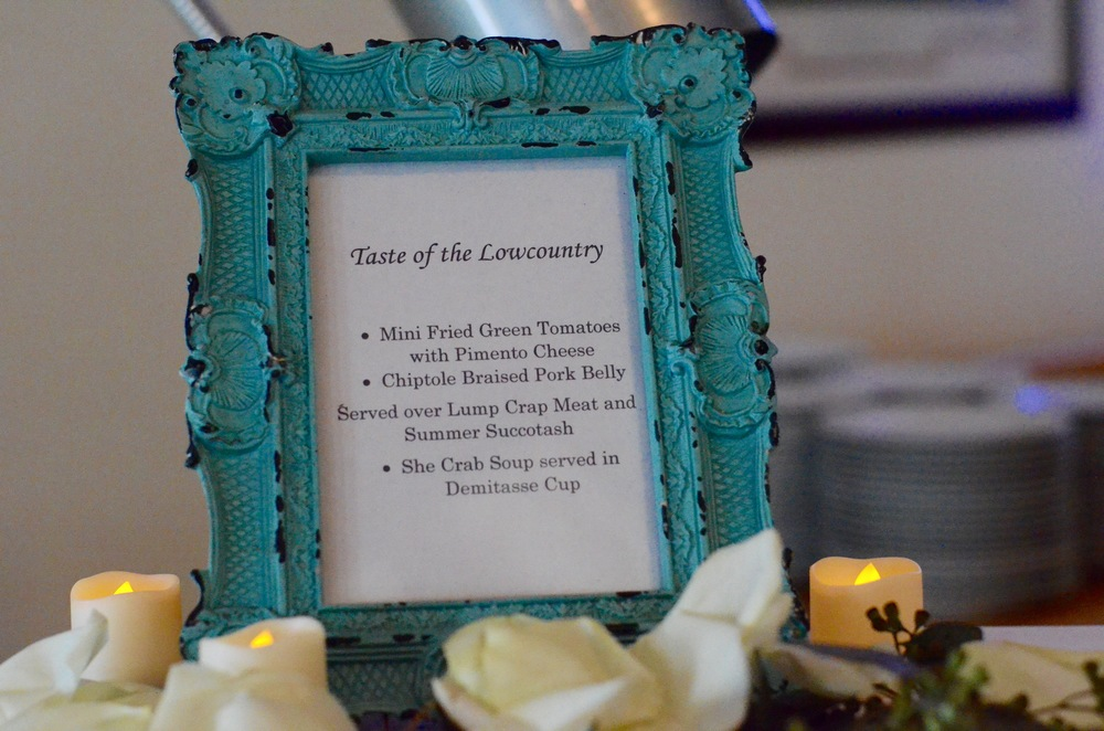 Frames and Table easels — A Tailor Made Event