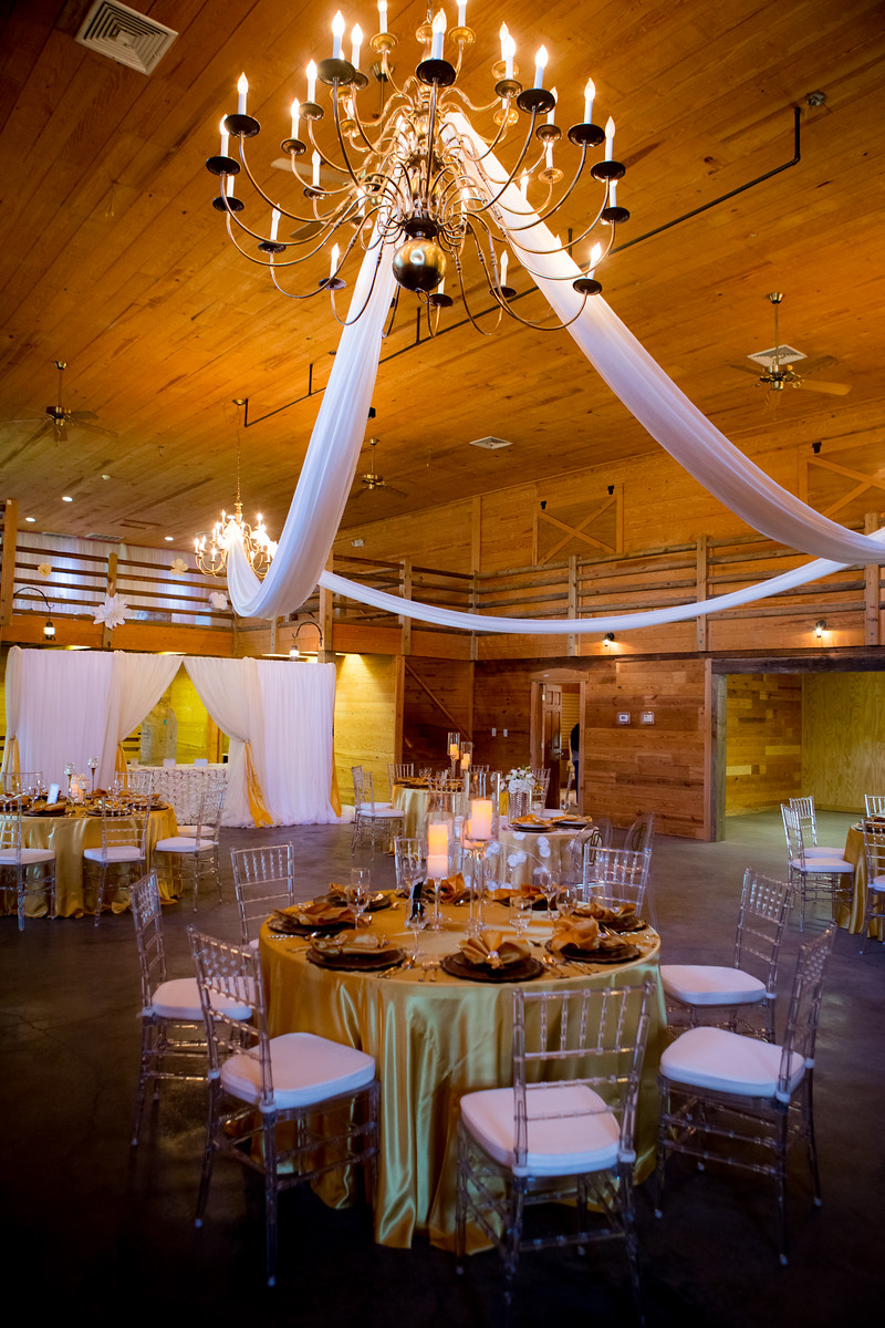 Chandelier draping by Tanis J Events