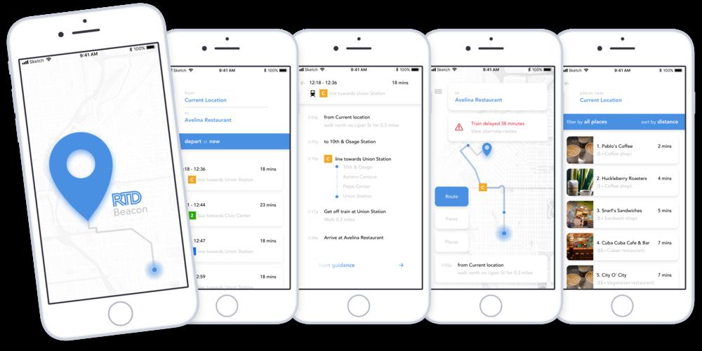 RTD Beacon Public Transit App -