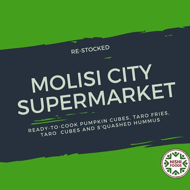 Fresh #hummus now available at Molisi City Supermarket - once it's gone - it's gone! But YOU can make your own!. All you need is: 1 Bag of our Pumpkin Cubes (cooked until it becomes mushy or purée like) 1 Can of Chickpeas (avail at Molisi). 1 Small Garlic. 2 -3 Tablespoons of Olive Oil. 1/4 Cup of Lemon Juice. Salt to Taste. 2-3 Tablespoons water.  Blend all the ingredients. Enjoy 😉. Simple. .