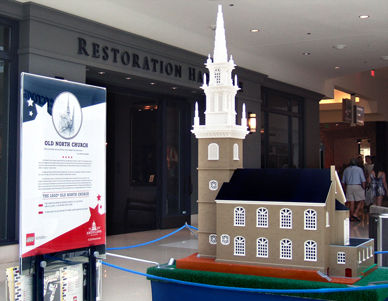 Old North Church, 200 hours to assemble at 1:32 scale.