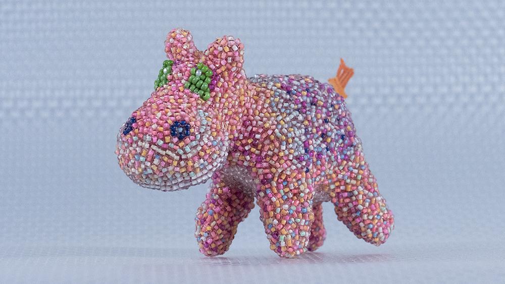SÖT BARNSLIG: hippo (artist's proof)