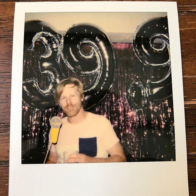 Party 39.9 for @adamsangel