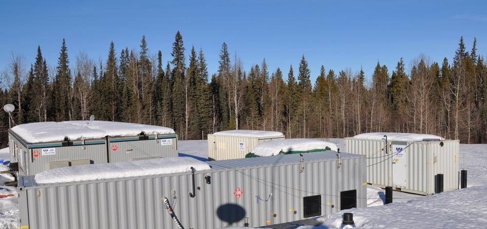 1 WTS Combination Unit,1 WTS Texas Mini Camp ,1 WTS Potable Water Storage
